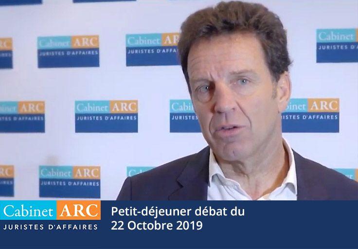Geoffroy Roux De Bézieux, invité du Cabinet ARC