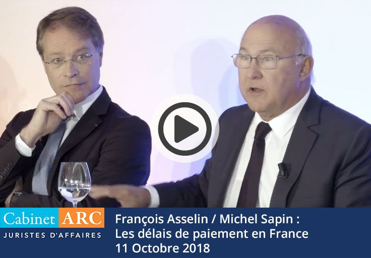Payment deadlines in France - Sapin / Asselin