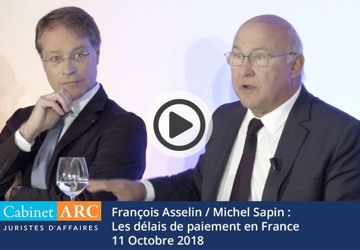 Les délais de paiement en France - Sapin / Asselin