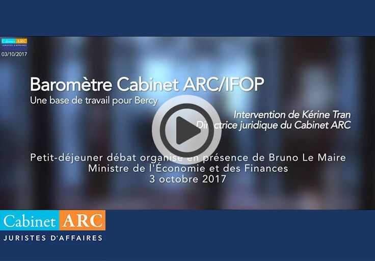 The ARC / IFOP Barometer, Bercy's work base
