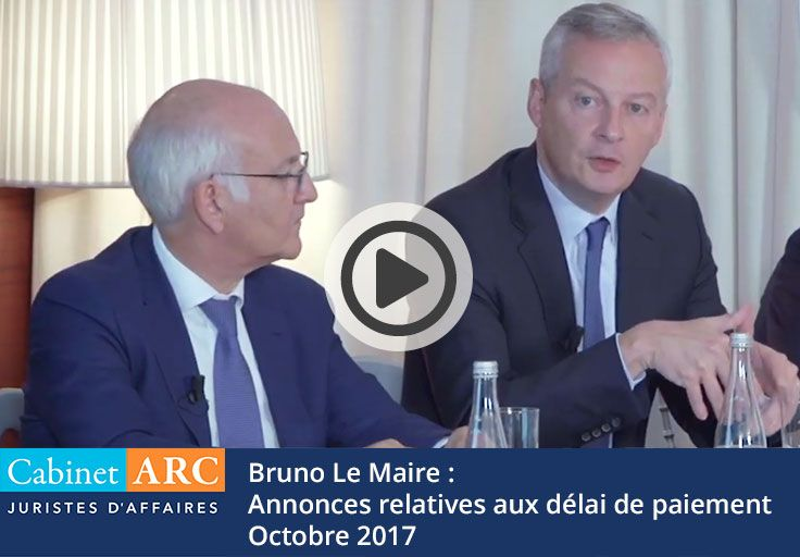 Bruno Le Maire's announcements to reduce payment delays and optimize debt collection