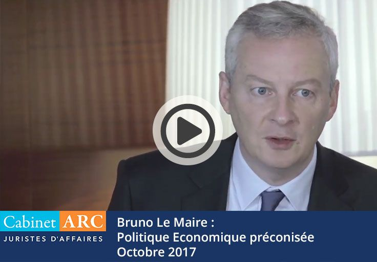 Economic policy recommended for recovery and compliance with payment deadlines by Bruno Le Maire