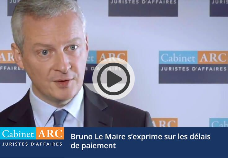 Bruno Le Maire on payment deadlines