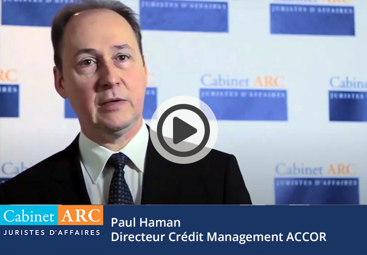 Paul Haman, credit manager du groupe ACCOR témoigne
