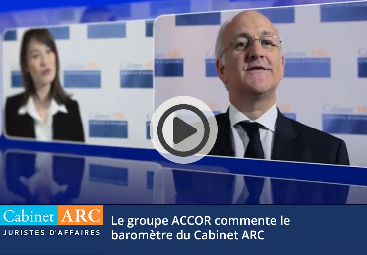 ACCOR on the ARC IFOP Barometer on debt recovery