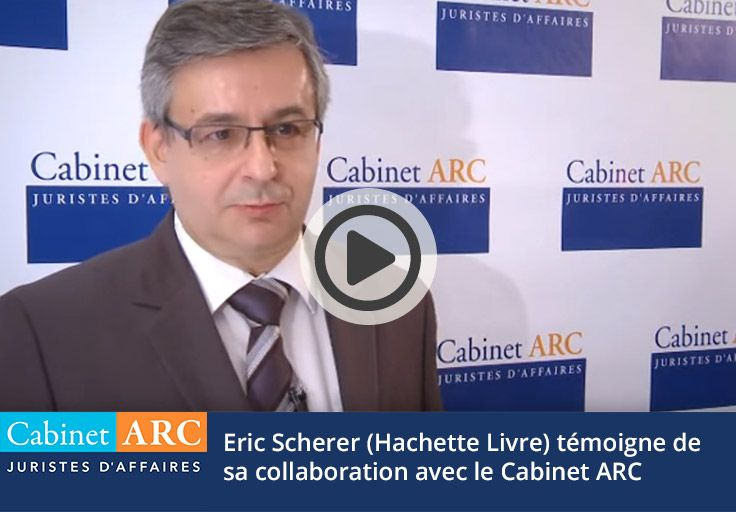 Eric Scherrer témoigne de la prise en charge de leurs dossiers de recouvrement par le Cabinet ARC