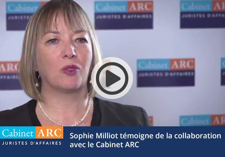 Sophie Milliot témoigne de la prise en charge des dossiers de recouvrement de créances par le Cabinet ARC