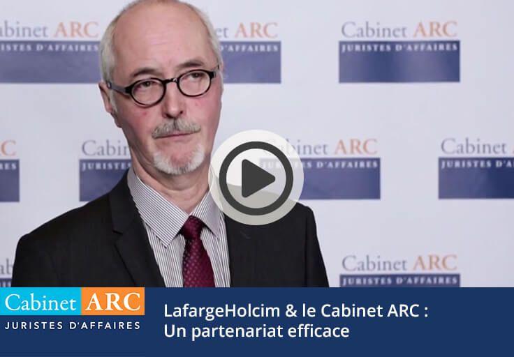 Jérôme Mandrillon témoigne de la prise en charge des dossiers de recouvrement par le Cabinet ARC