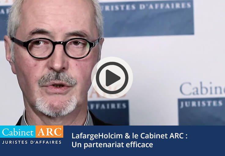 Le partenariat efficace entre le groupe LafargeHolcim et le Cabinet ARC