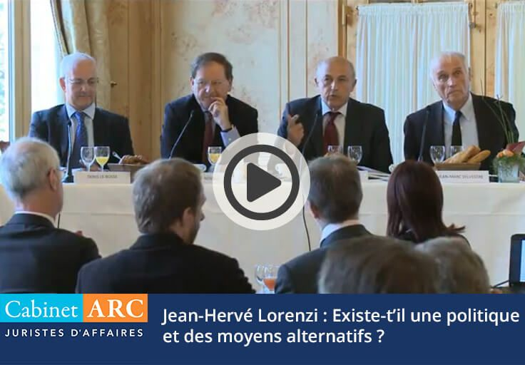Jean Hervé Lorenzi: Policy and Alternative Means to Revive the French Economy