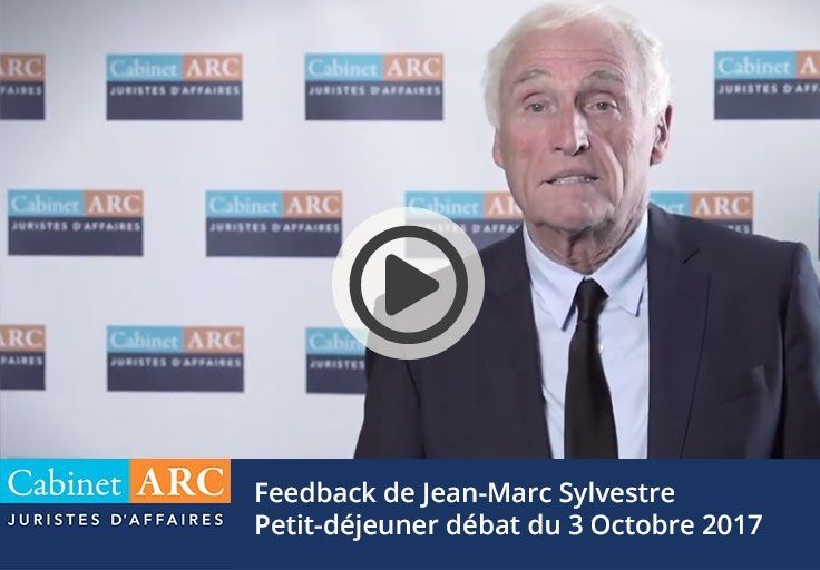 Feedback from Jean-Marc Sylvestre on the October 3, 2017 breakfast debate about payment delays and collection