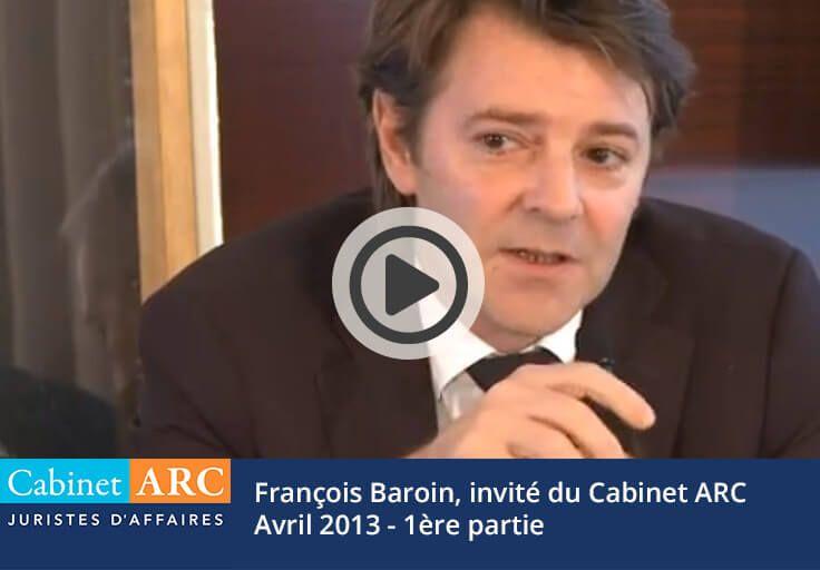 François Baroin s'exprime : Vers une sortie de crise ?
