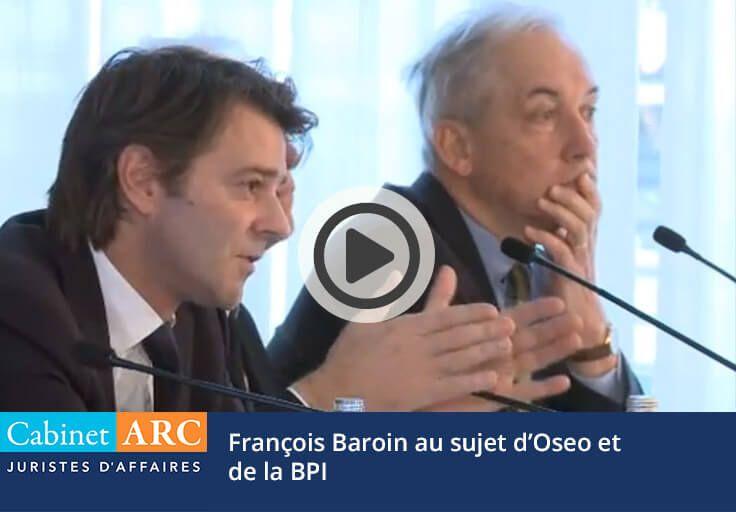 François Baroin au sujet d'OSEO et de la Banque Publique d'Investissement