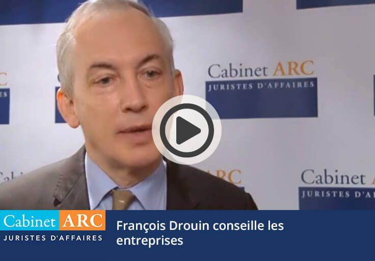 François Drouin conseille les entreprises