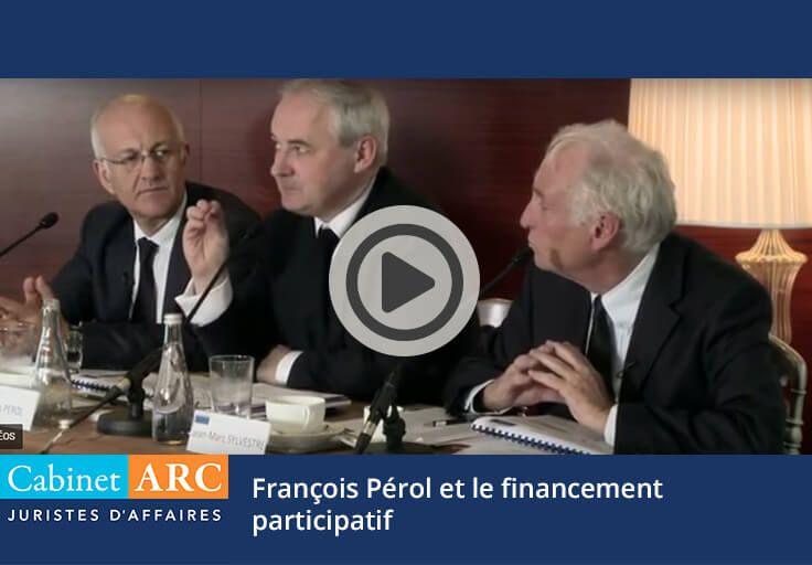 François Pérol on crowdfunding of companies