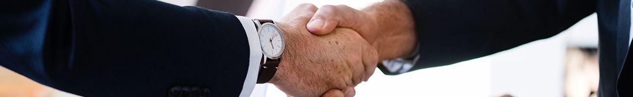 Business receivables management service for companies