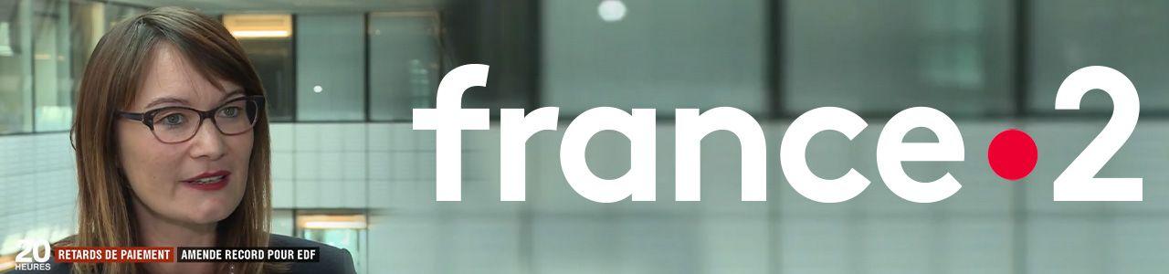 Reportage de France 2 avec Kérine Tran sur les retards de paiement