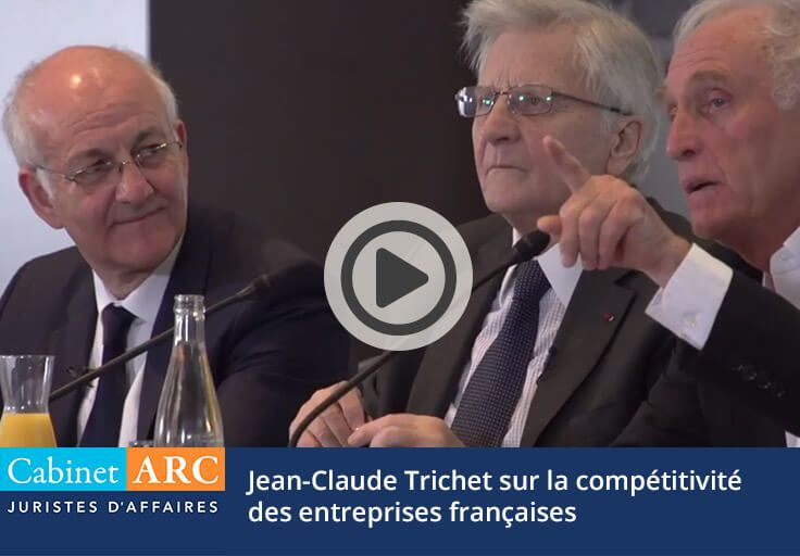 Jean-Claude Trichet on the competitiveness of French companies