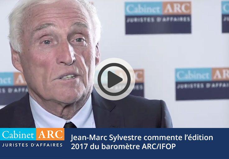 Jean-Marc Sylvestre commente les résultats du baromètre ARC/IFOP sur le recouvrement de créances de 2017