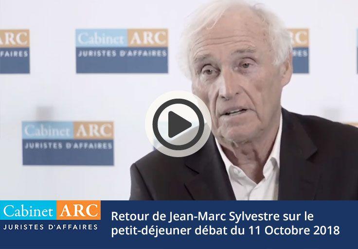 Retour de Jean-Marc Sylestre sur le petit-déjeuner débat du 11 octobre 2018 sur le recouvrement de créances