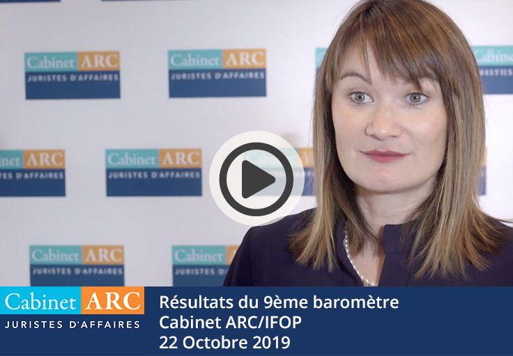 Kérine Tran commente les résultats du 9ème baromètre ARC/IFOP le 22 Octobre 2019