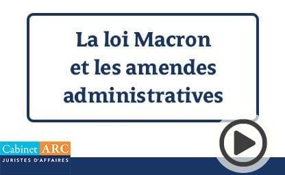 Kérine Tran sur la loi Macron et les amendes administratives