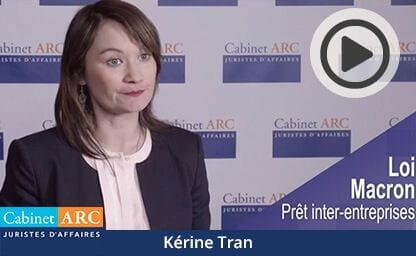 Kérine Tran about the Macron law and its impact on corporate finance