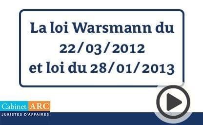 Loi Warsmann 2012 et loi de 2013, évolution du cadre législatif du recouvrement