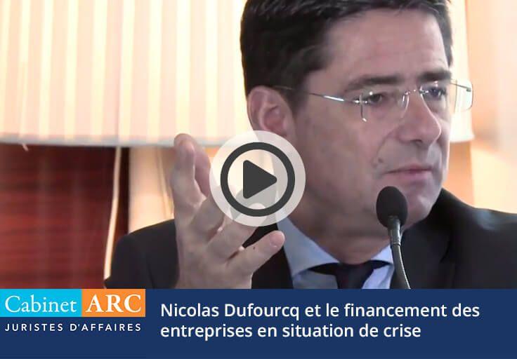 Nicolas Dufourcq on financing companies in crisis