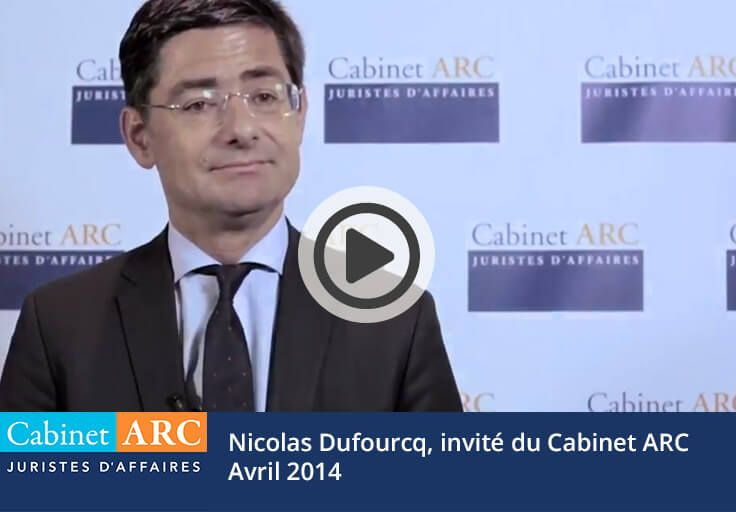 Nicolas Dufourcq, guest of Cabinet ARC on the financing of companies