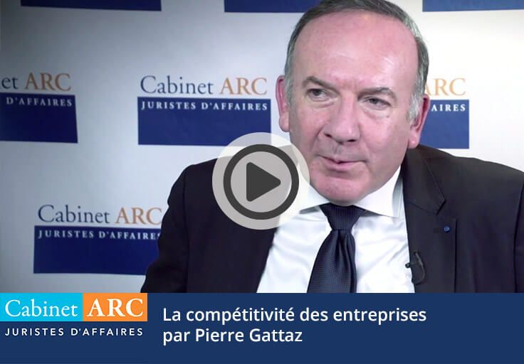 Pierre Gattaz speaks about the competitiveness of French companies