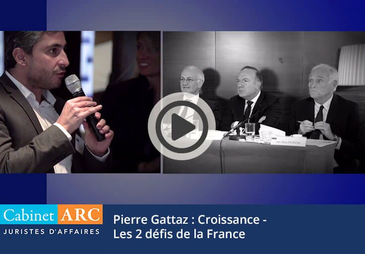 The 2 challenges for economic growth in France according to Pierre Gattaz