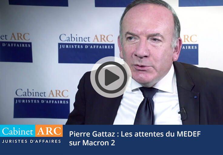 Pierre Gattaz on the Macron 2 law