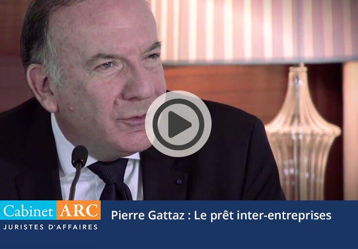 Pierre Gattaz on inter-company loan