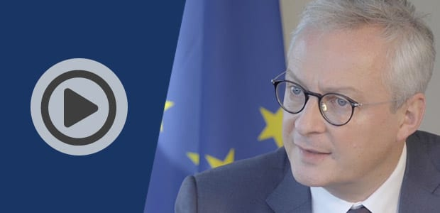 Bruno Le Maire au sujet du recouvrement de créances et des délais de paiement