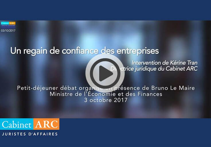 Baromètre ARC/IFOP: Regain de confiance des entreprises