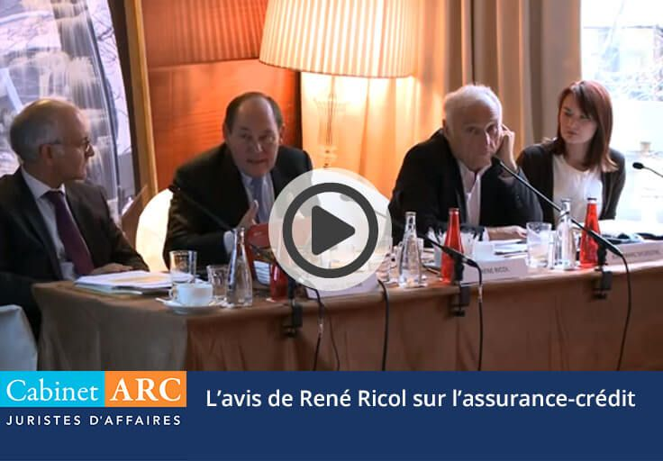 René Ricol: Sa position sur l'assurance-crédit