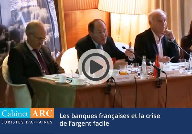 René Ricol : Les banques françaises et la crise de l'argent facile