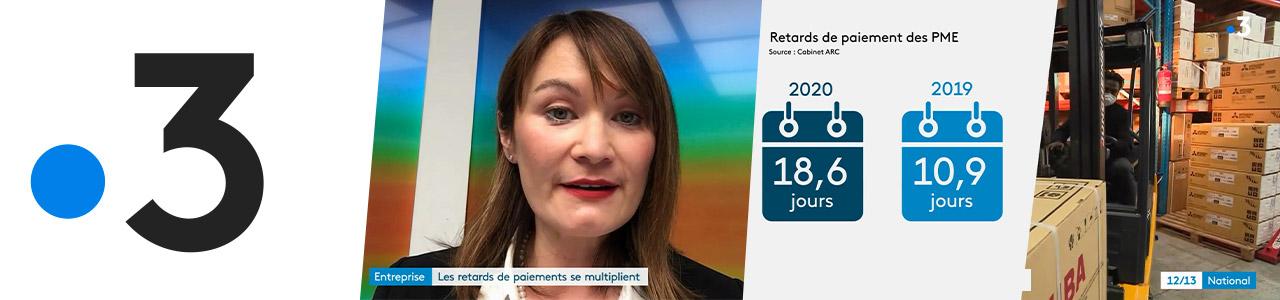 Reportage France 3 sur le baromètre ARC/IFOP d'octobre 2020