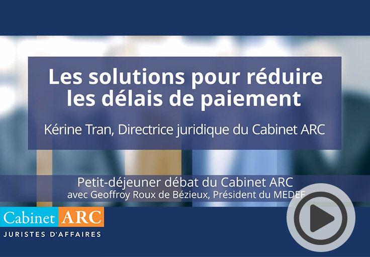 Kérine Tran, Directrice juridique du Cabinet ARC commente les résultats de la 9ème édition du Cabinet ARC/IFOP le 22 Octobre 2019