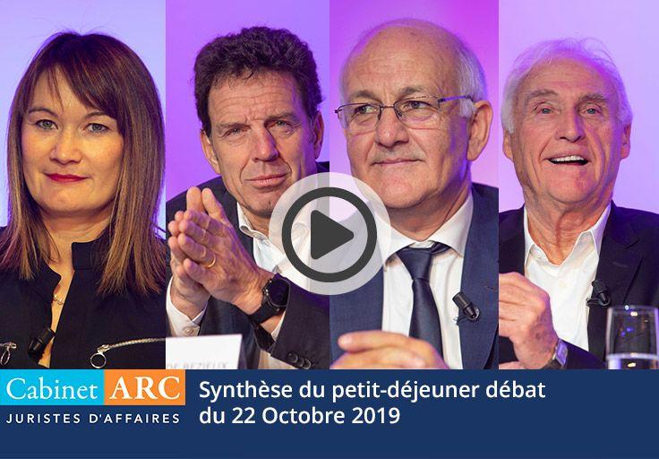 Synthèse du petit-déjeuner débat du 22 Octobre 2019